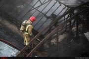 آتشسوزی در کارخانه قند همدان