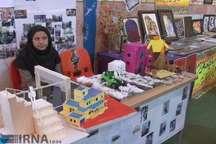 نمایشگاه هفته مشاغل در شهرستان ورامین برگزار شد