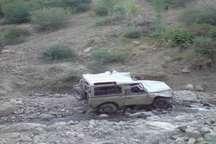 سقوط خودرو جیپ به دره در ملکشاهی یک کشته بر جا گذاشت