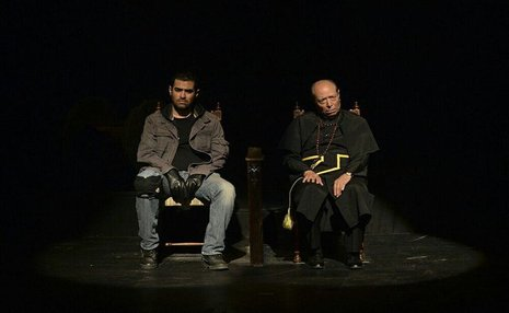 نگاهی به حضور علی نصیریان در نمایش اعتراف + تصاویر