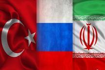 ایران، روسیه و ترکیه درباره موعد اولین نشست کمیته قانون اساسی سوریه توافق کردند