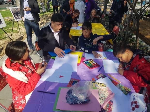 گذرگاه خانواده، کودک و خلاقیت در مرکز پایتخت برپا شد