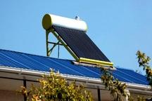 114 آبگرمکن خورشیدی در جنوب کرمان توزیع شد