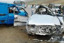 سانحه رانندگی  در جاده شهر مجلسی - بروجن 9 مصدوم داشت