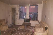 انفجار گاز شهری در خیابان سالاری تبریز، یک مصدوم بر جای گذاشت