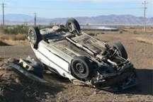 واژگونی پژو 405 در جاده بندرعباس- حاجی آباد یک کشته و دو زخمی برجای گذاشت