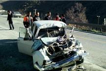 واژگونی سواری پیکان در جاده دهگلان 2 کشته بر جا گذاشت