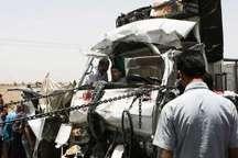 تصادف در جاده پلدختر- اندیمشک یک کشته بر جا گذاشت