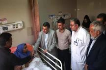 عیادت قائم مقام وزیر بهداشت از دانش آموزان هرمزگانی  رضایت از خدمات  رسانی