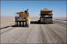 عملیات تعریض جاده رحیم آباد-دانسفهان آغاز می شود