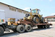 26 دستگاه ماشین آلات سنگین و سبک از یزد به لرستان ارسال می شود