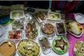 برگزاری جشنواره  غذاهای بومی در روستای سربالای تربت حیدریه