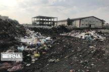 خوشنشینی زباله در محمودآباد مازندران