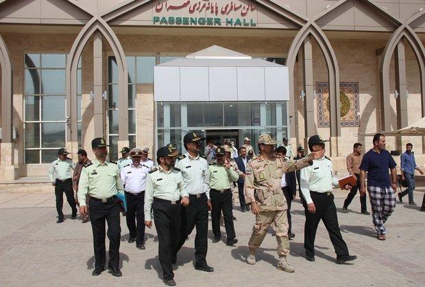 14 گردان ایام اربعین در مرز مهران مستقر می شوند