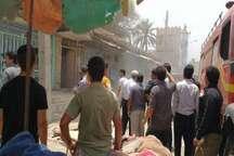 نجات چهار شهروند گرفتار در آتش سوزی مجتمع مسکونی شادگان