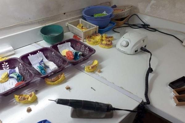 تعطیلی یک واحد دندانپزشکی غیرمجاز در آبیک