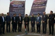 کلنگ زنی احداث زمین فوتبال در کارزان شهرستان سیروان
