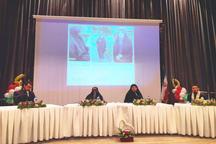 همایش زنان انقلابی نیشابور با حضور بانوی تازه مسلمان ایتالیایی برگزار شد