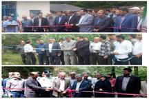 بهره برداری از هفت  طرح راهسازی در گیلان