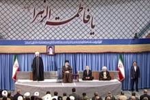 سخنان دکتر روحانی درباره آیتالله هاشمی رفسنجانی (ره)در دیدار جمعی از مسئولان نظام و سفرای کشورهای اسلامی با رهبر معظم انقلاب