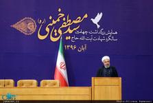 اجمالی/ رئیس جمهوری: شهید مصطفی خمینی امید همه انقلابیون بود/ بیت امام حق بزرگی بر گردن ما دارد