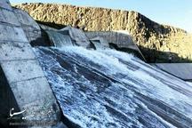 هدر رفتن 15 میلیون مترمکعب آب از سد شهدای تازه شهر سلماس