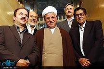 تصویر منتشر نشده از مرحوم آیت الله هاشمی(ره) با خسرو شکیبایی و ایرج قادری