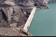 ذخیره آب سد سفیدرود از 400 میلیون مترمکعب گذشت