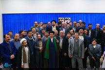دیدار مسئولین شورای هماهنگی هیئات مذهبی مهاجرین افغانستانی با سید حسن خمینی