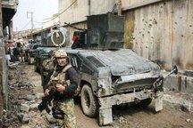 عملیات نیروهای عراقی در خیابانهای تنگ موصل قدیم