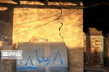 بخشی از خانه های روستایی و شهری چرام دچار خسارت شد