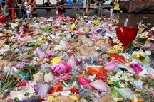 عکس/ ادای احترام به قربانیان