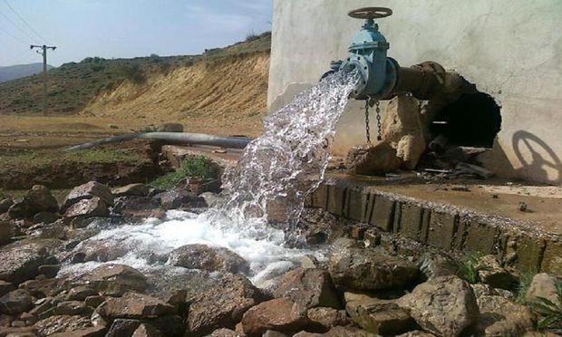 شکستگی خط انتقال آب روستایی شهرستان الهایی ترمیم شد