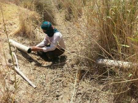 قطع آب یک روستای شاوور  به دلیل خرابکاری