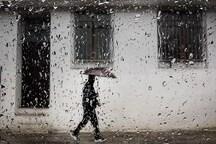 بارش باران در همدان شدت می گیرد
