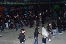 عزاداری های شبانه در آذربایجان غربی زیر نور حسینی