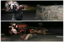 سانحه رانندگی در جاده ورزقان 8 مصدوم برجای گذاشت