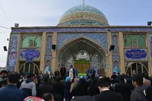 20 هزار گردشگر نوروزی بقاع متبرکه خمین را زیارت کردند