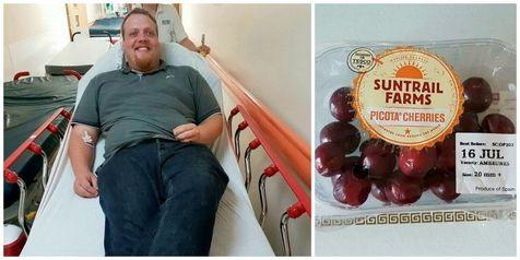 """هسته بعضی میوه ها """"سیانور"""" دارند؟ / نجات مردی از مرگ بخاطر خوردن چند هسته گیلاس!"""