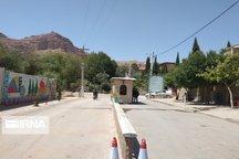 ورودی بافت قدیم روستای گردشگری قلات شیراز بازگشایی شد