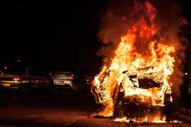 آتش سوزی بیمارستان امام حسین(ع) محمد شهر کرج