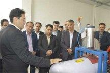 مرکز معاینه فنی مخازن فولادی سی ان جی در گنبدکاووس افتتاح شد