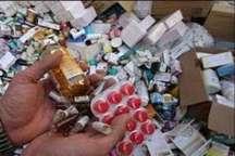 سه هزار عدد انواع داروهای غیرمجاز در بوکان کشف شد