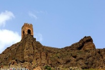 برج مقبره کندال شوط در حال مرمت است
