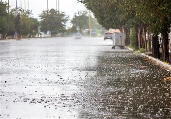 بارش پراکنده در مناطق ساحلی و جلگه ای در پایان هفته
