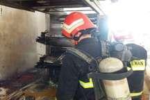 کارگاه چاپ پلاستیک در دزفول آتش گرفت