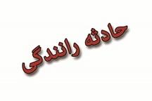 برخورد نیسان با تریلر در جاده پلدختر – خرم آباد جان راننده نیسان را گرفت