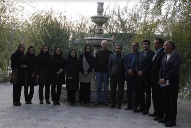 استاد آلمانی: پارک سلامت روان شیراز بالاتر از استانداردها است