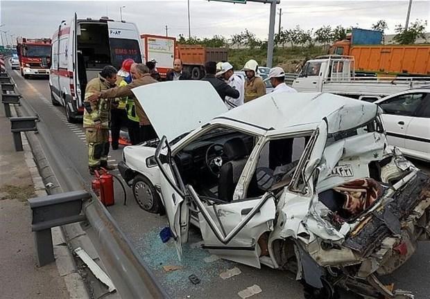 2 حادثه رانندگی در الیگودرز 2 کشته برجا گذاشت