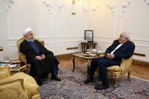 توضیح ظریف در مورد دیدارش با رئیس جمهور